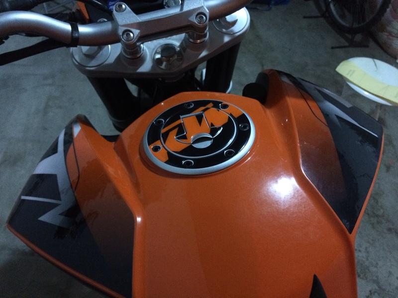 Katie, KTM DUKE 125 ABS - Yonie Img_3015