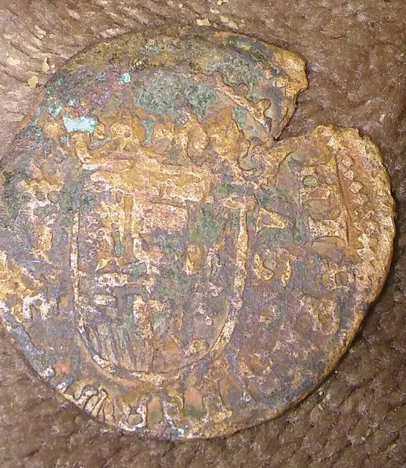 Moneda a identificar medieval 20180133