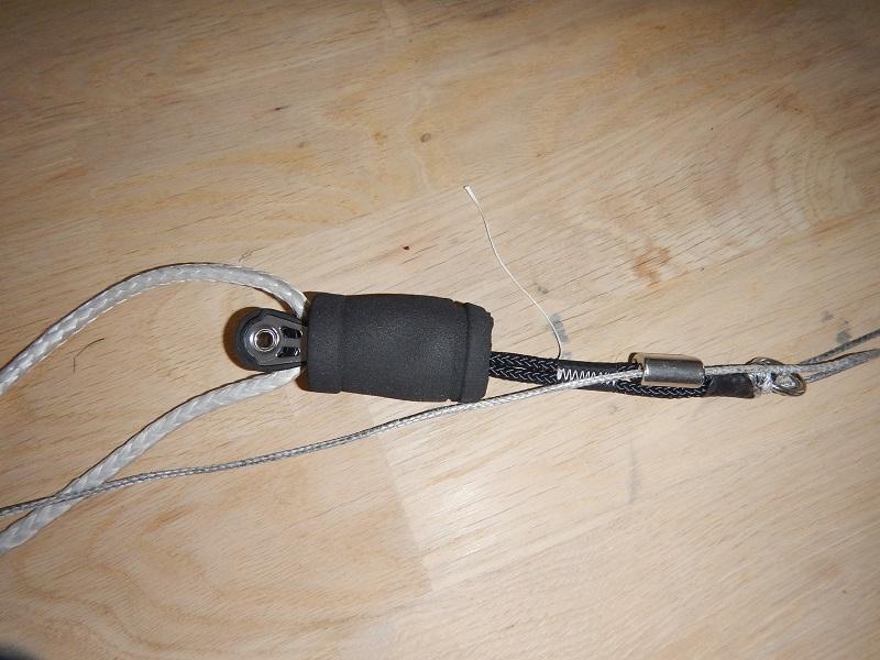 bricolage trim clamcleat sur barre infinity Dscn0813