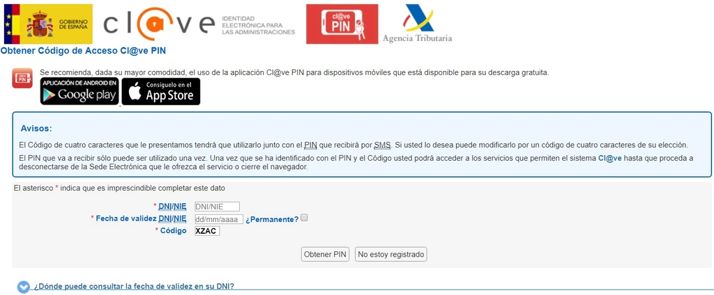 CAOS Y DESCONTROL EN LA PRESENTACIÓN DE SOLICITUDES Clave_10
