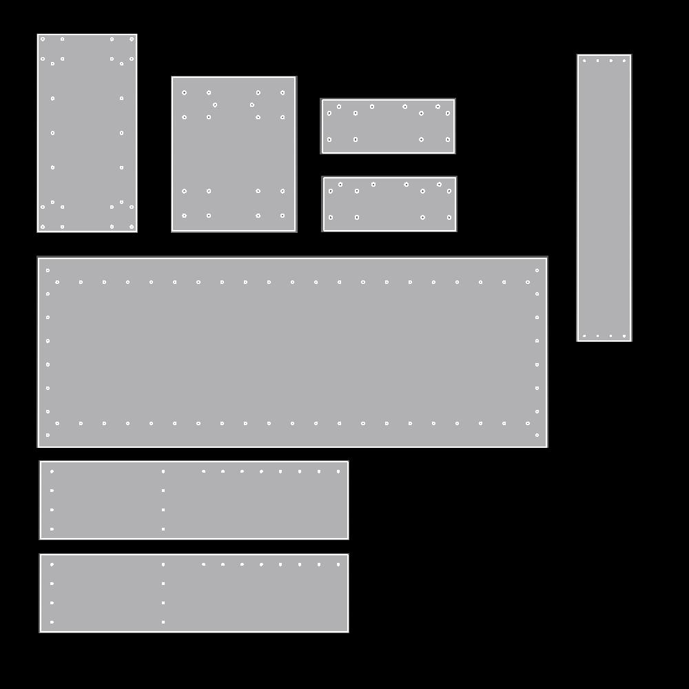 Evaluation structure fraiseuse Plaque10