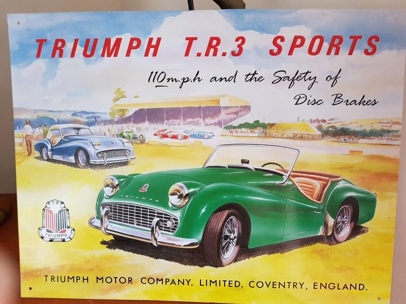 plaque Triumph Triump10