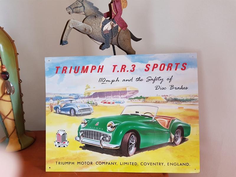 plaque Triumph Triump11