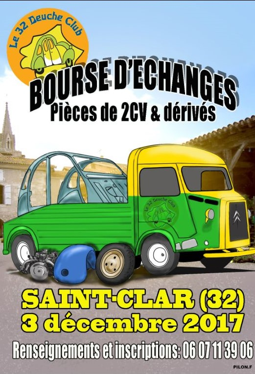 Bourse 2cv a SAINT CLAR  ( Gers ) Bouse_10