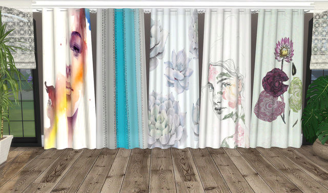 Mango Nebula Curtains Recolors 07_10_14