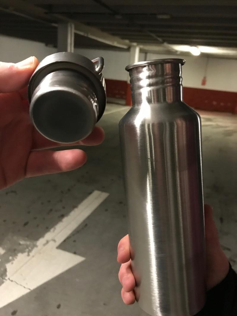 Botella de acero inoxidable Lidl  Img_0811