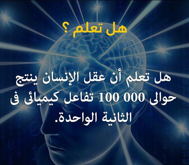 هل تعلم أن عقل الإنسان  210