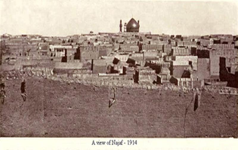 قبة الامام علي عليه السلام في النجف الأشرف عام 1914م Iu_ooo11