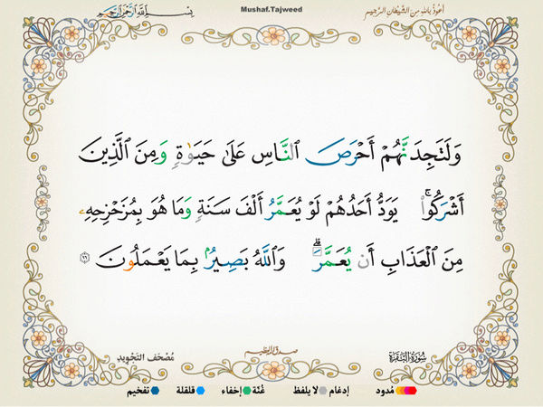 الآية 96 من سورة البقرة الكريمة المباركة Oa_96_10