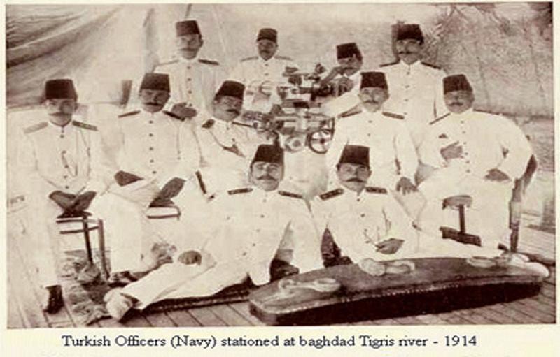 الجيش التركي في بغداد عام 1914م Oa_oda10