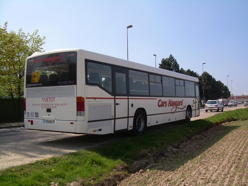Transports HANGARD  Merced10