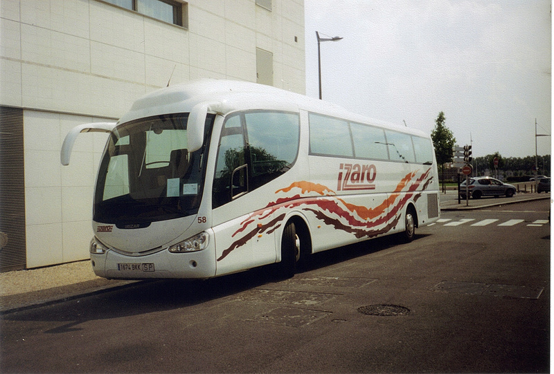 Les cars et bus espagnols - Page 2 Scania26