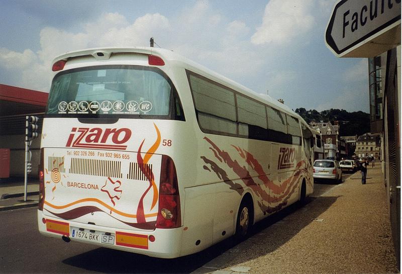 Les cars et bus espagnols - Page 2 Scania27
