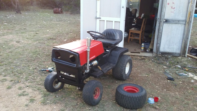 """1999 WeedEater Mowing Mower Build """"Sodzilla"""" - Page 2 20171116"""
