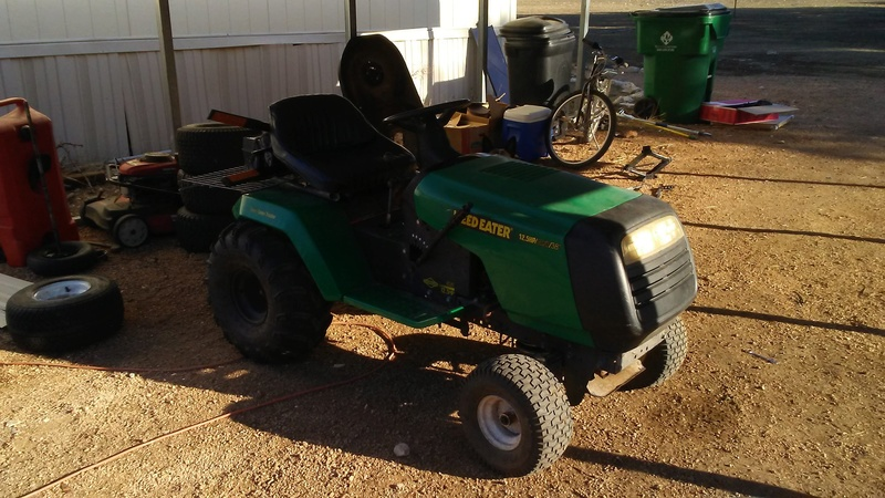 "1999 WeedEater Mowing Mower Build ""Sodzilla"" 20180139"