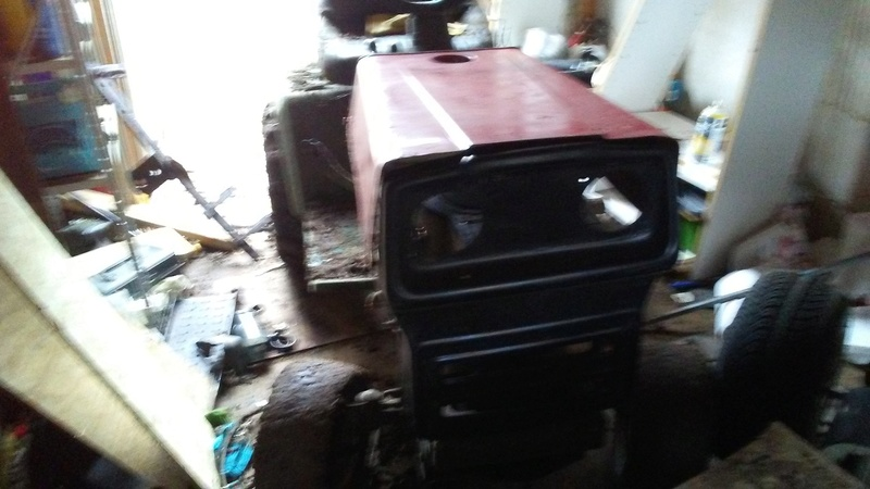 """1999 WeedEater Mowing Mower Build """"Sodzilla"""" - Page 2 20180240"""