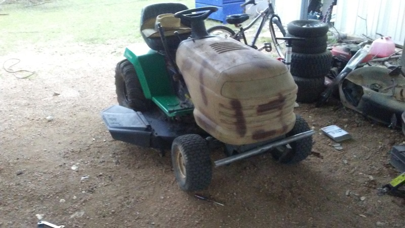 """1999 WeedEater Mowing Mower Build """"Sodzilla"""" - Page 2 20180418"""