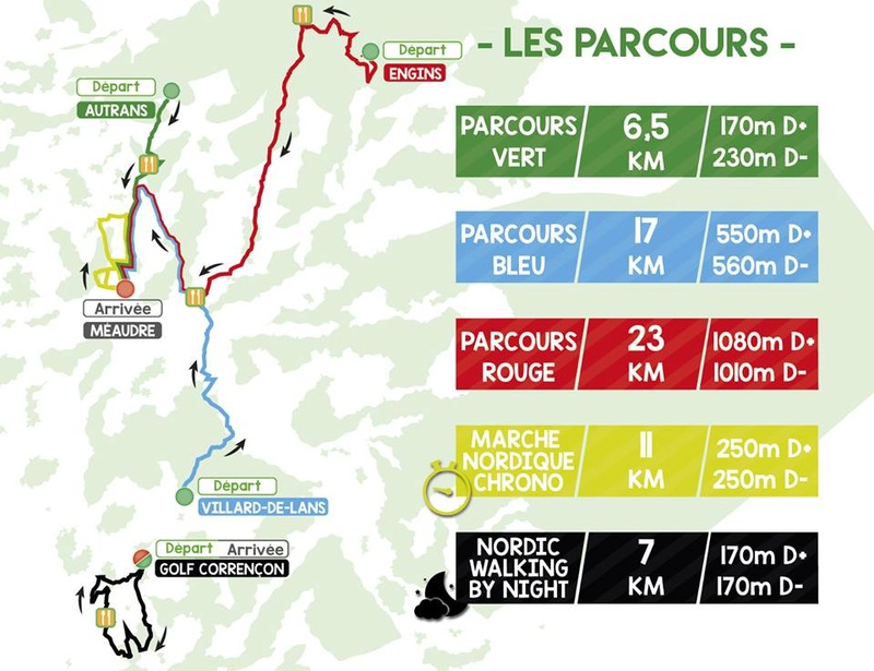 euronordicwalk - Inscription à l'EuroNordicWalk Vercors 2018 Parcou10