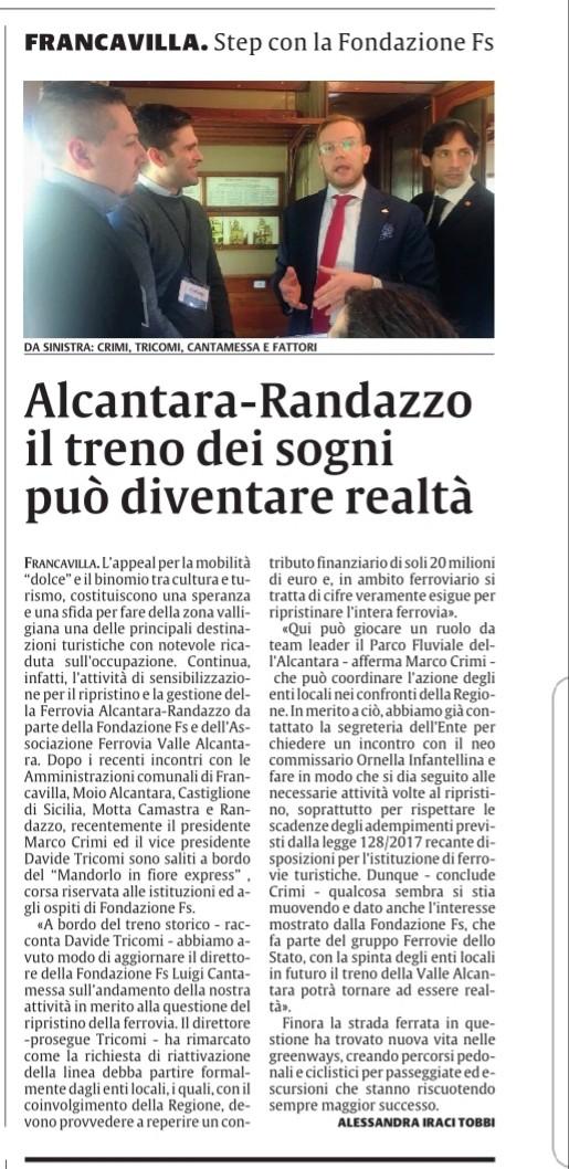 Ferrovia Alcantara - Randazzo  Ff009110