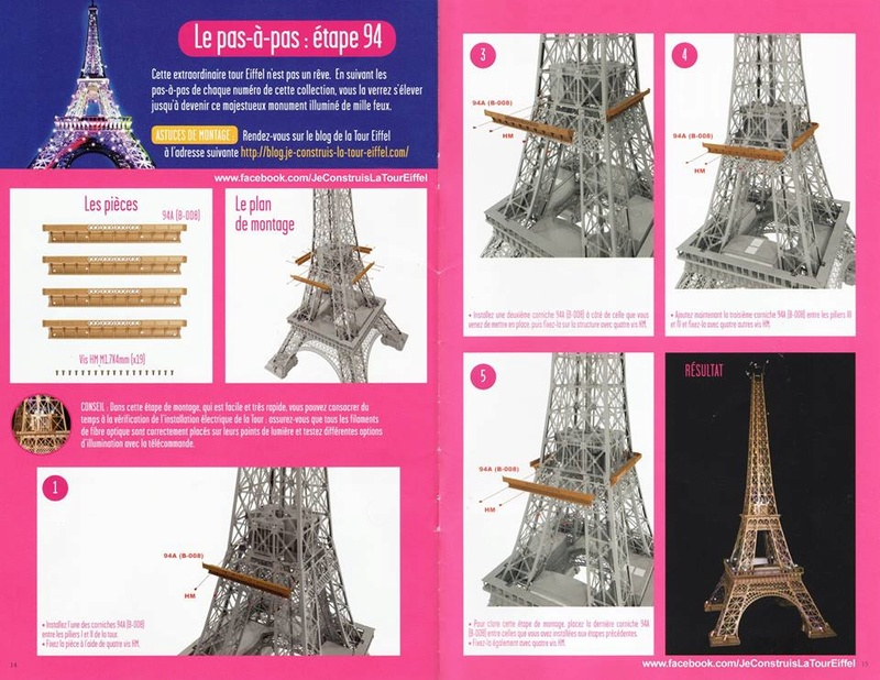 Numéro 94 - Je construis la Tour Eiffel - La tour du Caire Ppte9410