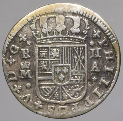 2 reales 1723 Felipe V S-l50012