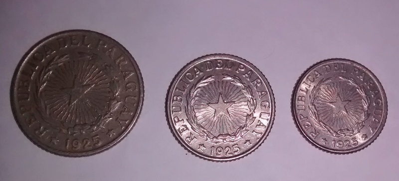 Paraguay 50 ctv 1 peso y 2 pesos año 1925 Img_2012