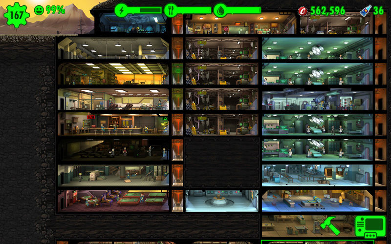"Game mobile ""fallout shelter"" Screen25"