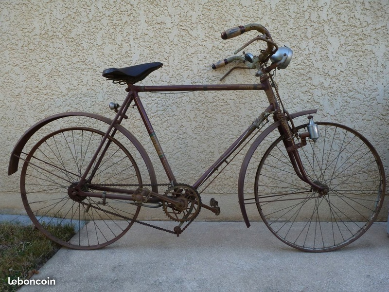 Velo homme années 30 freins a tringles 4f05f310
