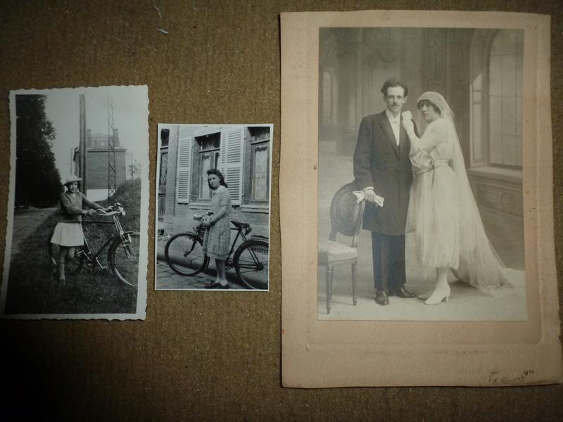 Velo homme années 30 freins a tringles Eugyne10