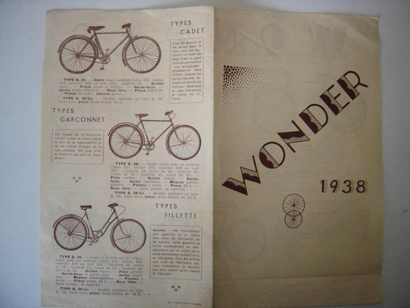 Wonder homme freins a tambours ... Wonder10