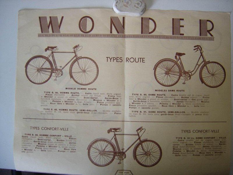 Wonder homme freins a tambours ... Wonder11