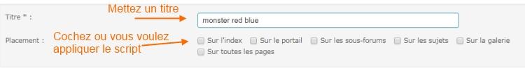 EFFET SPRITE  MONSTER BLUE | RED Java110