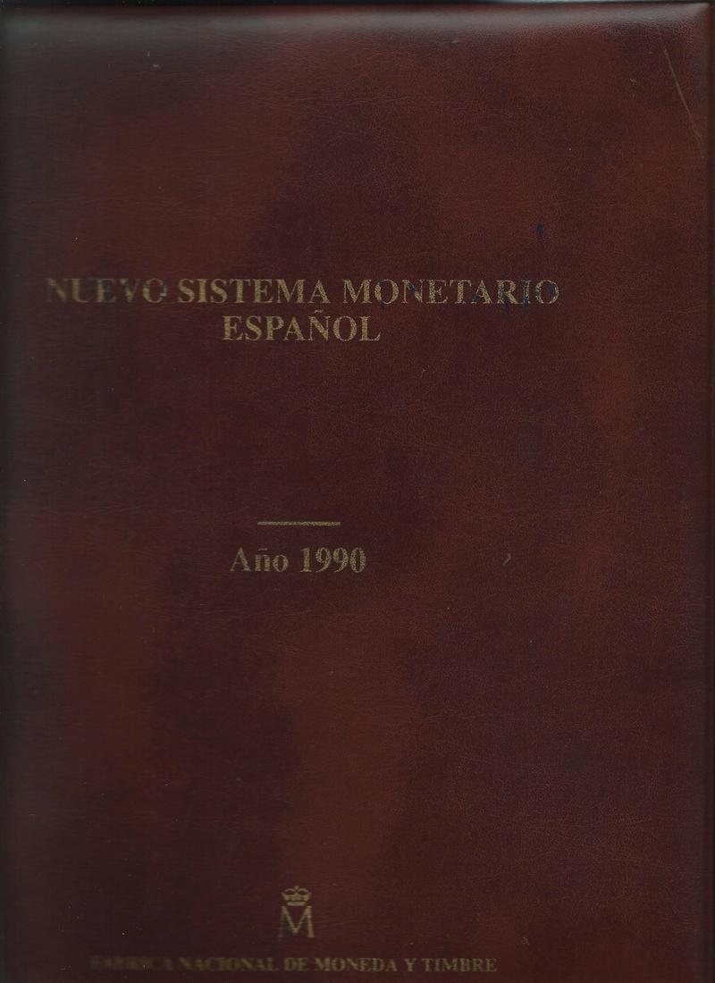 Cartera en piel 1970 MINISTERIO DE HACIENDA-FNMT-MONEDAS Portad10