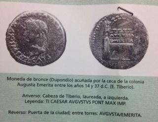 Denario de Augusto de Emerita. P CARISIVS LEG PRO PR  Fullsi12