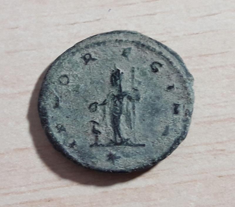 Antoniniano de Salonina. IVNO REGINA.Juno y pavo real. Antioquía 20180117