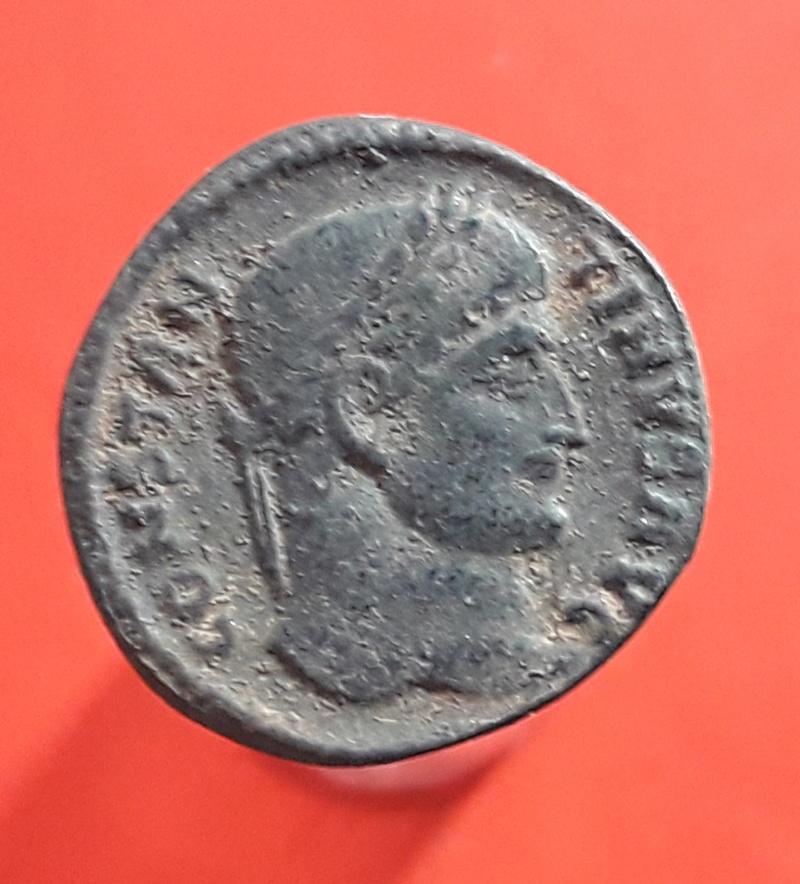 AE3 de Constantino I. D N CONSTANTINI MAX AVG / VOT / XX. Tesalonica. 20180222