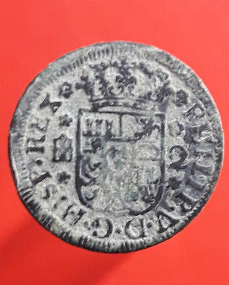 2 maravedís de Felipe V de Segovia, 1745 20180227