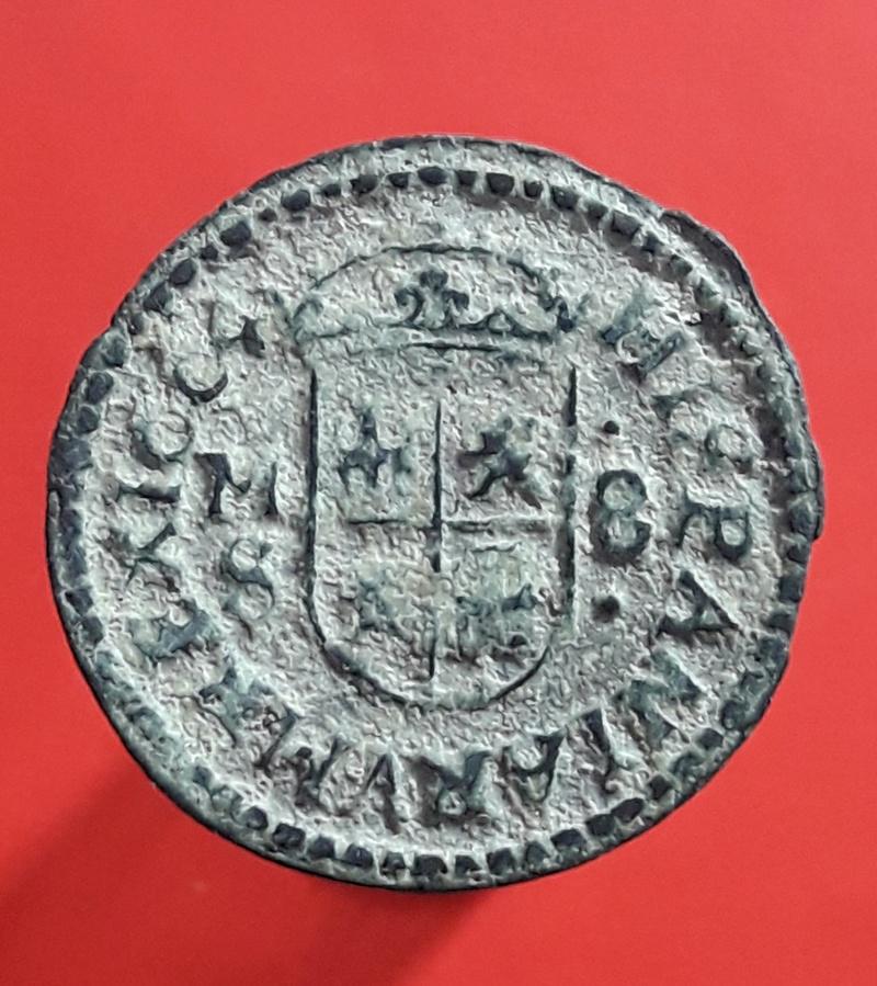 8 maravedís de Felipe IV de Madrid, 1664. 20180233
