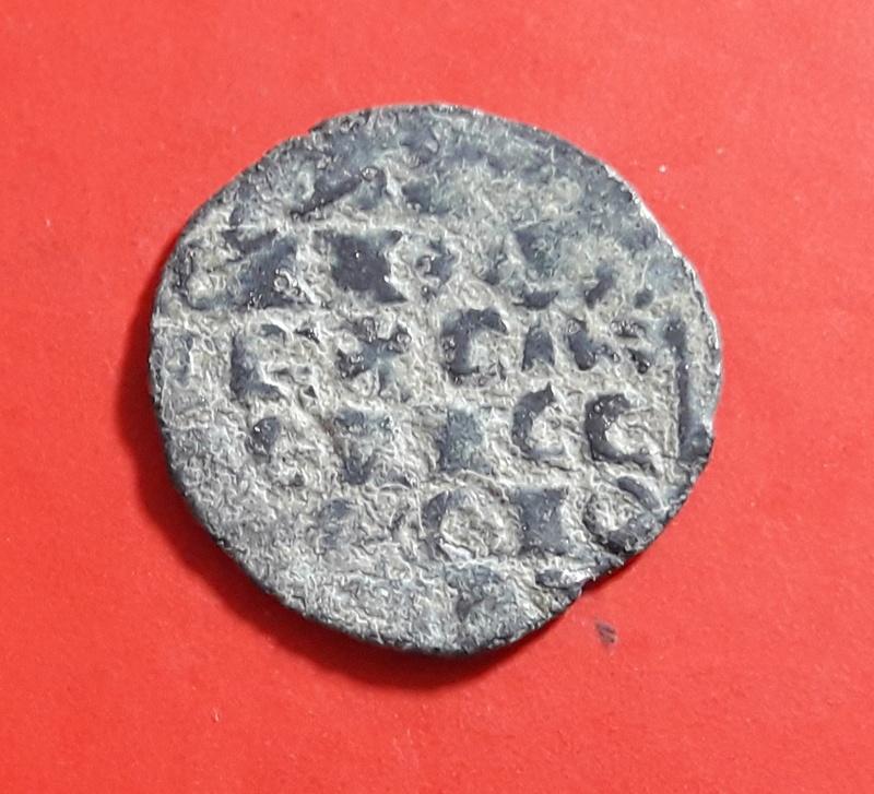 Dinero de Alfonso X de la 1ª guerra de Granada. Estrella o punto 20180322