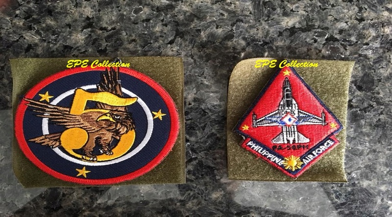 5th Fighter Wing patch with FA-50 Golden Eagle patch 5fw10
