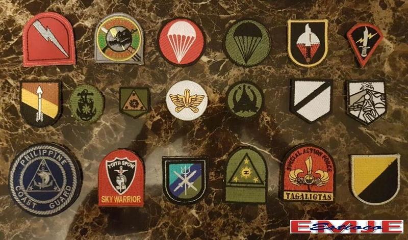 Philippine Beret/Cap/Hat Patches Afp-pn10