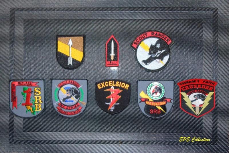 Scout Ranger Unit patches Complete Set Sr67th10