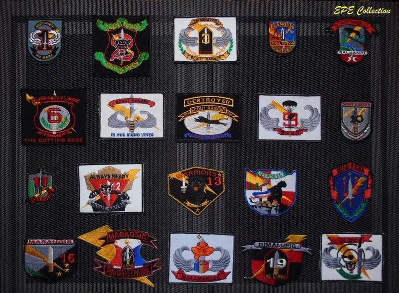 Scout Ranger Unit patches Complete Set Sr67th11