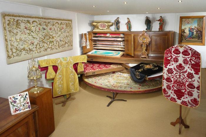Une robe de Marie-Antoinette au musée de la Visitation 20867310