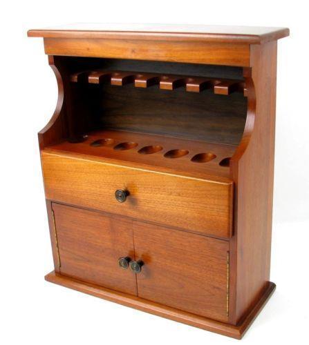 Decatur Pipe Cabinet & Pipe Stand Dacatu10