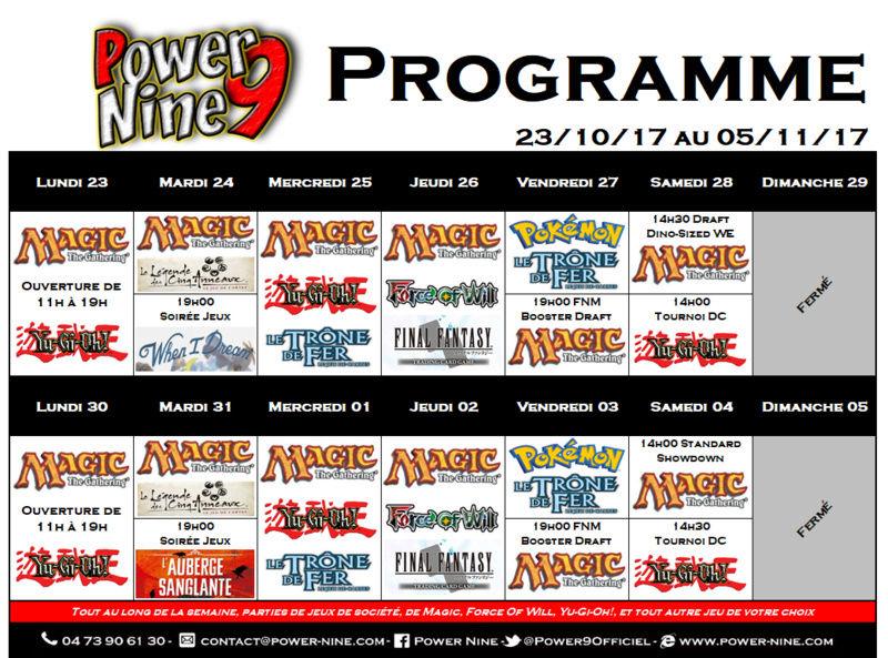 Programme des events du 23/10/17 AU 05/11/17  P9_pla10