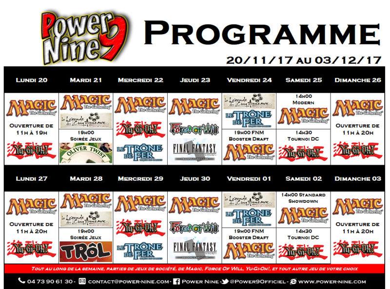 Programme des events du 20/11/17 AU 03/12/17 P9_pla12