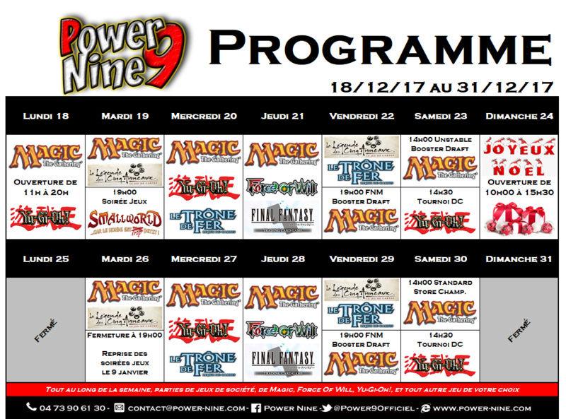 Programme des events du 18/12/17 AU 31/12/17 P9_pla14