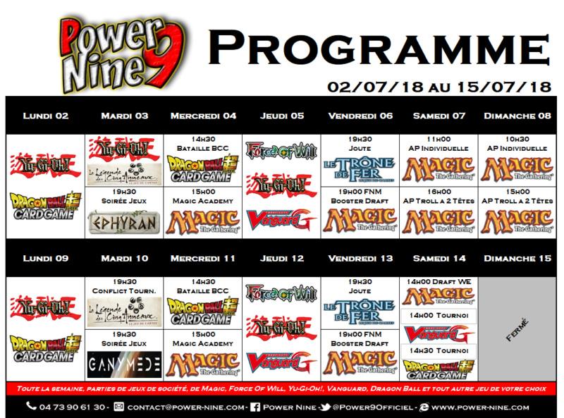Programme des events du 02/07/18 au 15/07/18 P9_pla14