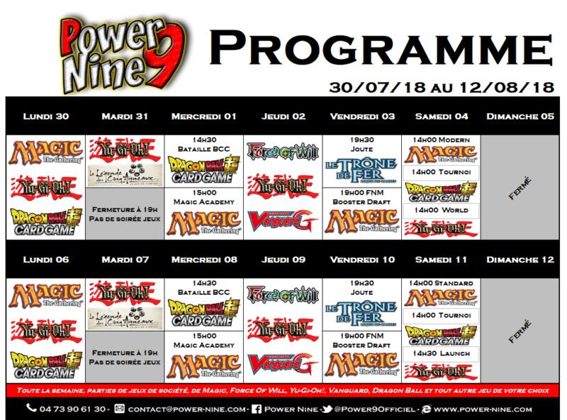 Programme des events du 30/07/18 au 12/08/18 P9_pla17